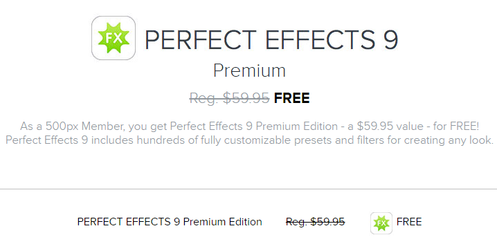 Free Perfect Effects